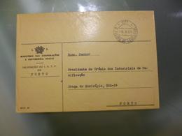 ISENTO DE FRANQUIA - D.FILIPA DE LENCASTRE - 1910-... Republic