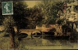 Cp Crosnes Essonne, Pont Sur L'Yerres - France