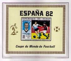 TCHAD 1982 - CAMPEONATO DEL MUNDO DE FUTBOL ESPAÑA-82 - NO DENTADA - IMPERFORATED - 1982 – Espagne