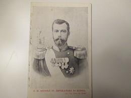 1903 S.M. Niccolò II Imperatore RUSSIA Tip.Pistolesi Roma - Koninklijke Families