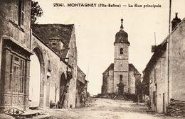 - MONTAGNEY - La Rue Principale  -8615- - Frankreich