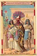 PIE-Z RO-19-3812 : CHOCOLAT POULAIN. JOUR DE L'AN. LA FETE DE THOT. ANCIENNE EGYPTE. - Poulain