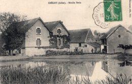 S3493 Cpa 03 Créchy - Moulin Serin - Autres Communes
