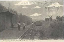 SAINT OUEN Sur MORIN : La Gare - Arret De Saint OUEN - Sonstige Gemeinden
