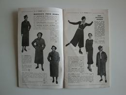 Catalogue D'articles De Sport 1933 Skis Français Et Norvégiens,Tangvald,golf,chasse,boxe,tennis,hockey Sur Glace. - Sports & Tourisme