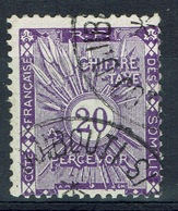 French Somali Coast, 20c., Postage Due, 1915, VFU - French Somali Coast (1894-1967)