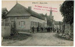 EPAGNY- Route D'ailly -cafe Restaurant  Non Voyagee - Francia