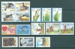 ALAND - 2001 - MNH/*** LUXE  - YEAR COMPLETE EUROPA - Yv 183-197 - Lot 20787 - Aland