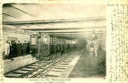 Chemin De Fer Métropolitain : Station De L'hotel De Ville   1205 - Metro, Stations