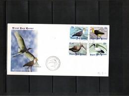 Papua New Guinea 2001 Birds FDC - Albatrosse & Sturmvögel
