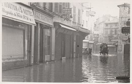 84 AVIGNON  PHOTO INONDATION D AVIGNON   FORMAT 9  14Cms  Cachet Sec Photographe Avignon  ? - Avignon