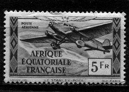 AFRIQUE  EQUATORIALE  FRANCAISE  N°  35 *  PA  (Y&T)  (Charnière) - Neufs