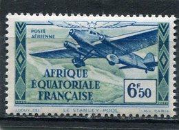 AFRIQUE  EQUATORIALE  FRANCAISE  N°  36 *  PA  (Y&T)  (Charnière) - Neufs