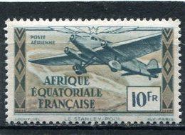 AFRIQUE  EQUATORIALE  FRANCAISE  N°  38 *  PA  (Y&T)  (Charnière) - Neufs