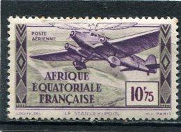 AFRIQUE  EQUATORIALE  FRANCAISE  N°  39 *  PA  (Y&T)  (Charnière) - Neufs