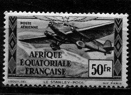 AFRIQUE  EQUATORIALE  FRANCAISE  N°  41 *  PA  (Y&T)  (Charnière) - Neufs