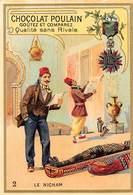 PIE-Z RO-19-3842 : CHOCOLAT POULAIN. DECORATIONS MEDAILLES. LE NICHAM. TUNISIE. - Poulain