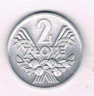 2 ZLOTE  1974 POLEN /9270/ - Pologne