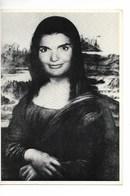 HUMOUR / MONTAGE JOCONDE / JACKIE KENNEDY (Bouvier) //CPM N° 62 De 1980 AMERICARDS Photographe A. Gescheidt - Femmes Célèbres