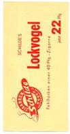 Etiquette De Boîte à Cigares, Lithographiée, Litho SCHILDE'S - LOCKVOGEL . - Etiquetas