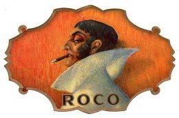 Etiquette De Boîte à Cigares, Lithographiée, Litho ROCO. - Etiquetas