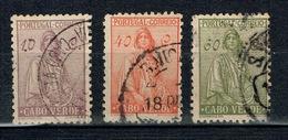 Cape/Cabo Verde 1934 Partial Set USED - Cape Verde
