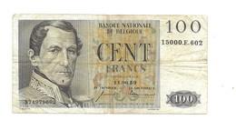 100 Fr 11.06.59 - [ 2] 1831-... : Royaume De Belgique