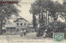FORÊT DE SAINT-LEU_ LE RENDEZ-VOUS DE CHASSE_ LE JARDIN 95 - Saint Leu La Foret