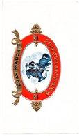 Etiquette De Boîte à Cigares, Lithographiée, Litho N° 103759 : GRAN MARCA - GARANTIZADOS (cavalier). - Etiquetas