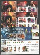 13 Stamps BURUNDI - MNH - Famous People - Singers - Presley -  Perf. + Imperf. - Other