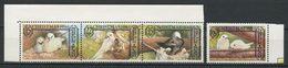 NORFOLK 1980  N° 253/256 ** Neufs MNH Superbes  C 3.50 € Faune Oiseaux Sterne Phaetonbirds Fauna Noël Christmas - Ile Norfolk