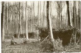 Waldlager / Soldaten / Lager Hessen Saarburg   /German Soldiers /allemande Carte  -1914-1918 WWI - Guerre 1914-18
