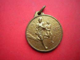 MEDAILLE DE COURSE A PIED DIAMETRE 34 MM POIDS 20 GRAMMES - Athlétisme