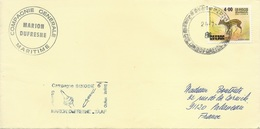 "TAAF - Lettre ""Marion-Dufresne"" Avec Timbre Sri-Lanka N°561 - Cachet Manuel Du 24/07/1981 - Lettres & Documents"