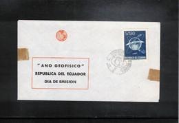 Ecuador 1958 International Geophysical Year FDC - International Geophysical Year