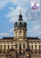 Allemagne - Berlin - Schloss Charlottenburg - Sur Carte Maximum - 6630 - Charlottenburg