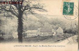 SOUZY-LA-BRICHE _ LE MOULIN NEUF ET LES CARRIERES 91 - Non Classés
