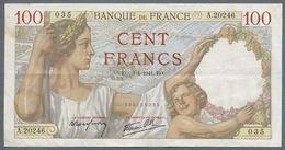France 100 SULLY  03/04/1941 TTB - 1871-1952 Anciens Francs Circulés Au XXème