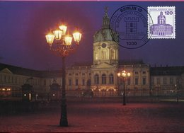 Allemagne - Berlin - Schloss Charlottenburg - Sur Carte Maximum - 6633 - Charlottenburg
