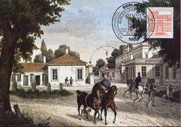 Allemagne - Berlin - Peinture - Schloss Herrenhausen - Sur Carte Maximum - 6634 - Charlottenburg