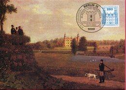 Allemagne - Berlin - Peinture - Schloss Ahrensburg - Sur Carte Maximum - 6636 - Deutschland