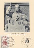 ♦ - CARTE MAX: 1°JOUR-ABBÉ RENÉ BONPAIN-26/03/1960 DUNKERQUE - COTE 10€ - Cartes-Maximum