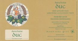 Aarschotse  Stadsbrouwerij   Duc  33 Cl - Bière