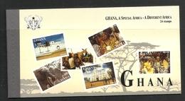 GHANA 2000 BOOKLET,TOURISM,CULTURE MNH - Ghana (1957-...)