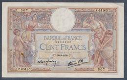 France 100 MERSON  30/03/1939 SUP - 1871-1952 Antichi Franchi Circolanti Nel XX Secolo