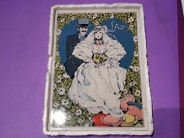 Carte Porcelaine Avec Sa Boîte Et Livret - Couple, Fleurs  - Villeroy / Boch - Porcelana