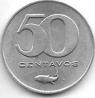 *Cape Verde 50 Centavos 1977  Km 16  Bu - Cape Verde