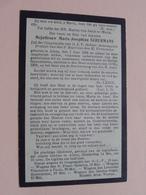 DP Maria-Josephina SCHURMANS () ALKEN 1 Juni 1862 - 10 Mei 1908 ( Zie Foto's ) ! - Décès