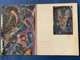 Postcard Circulated Nicaragua 1991, National Art School In Managua , Paarot Samp - Nicaragua