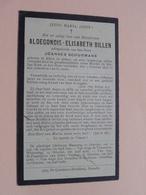 DP Aldegondis BILLEN ( Joannes Schurmans ) ALKEN 7 Oktober 1898 ( Ouderdom 67 Jaar ) ( Zie Foto's ) ! - Décès